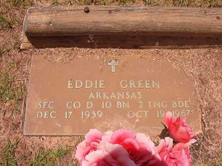 GREEN (VETERAN), EDDIE - Columbia County, Arkansas | EDDIE GREEN (VETERAN) - Arkansas Gravestone Photos