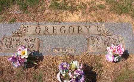 GREGORY, WILLIAM HENRY - Columbia County, Arkansas | WILLIAM HENRY GREGORY - Arkansas Gravestone Photos
