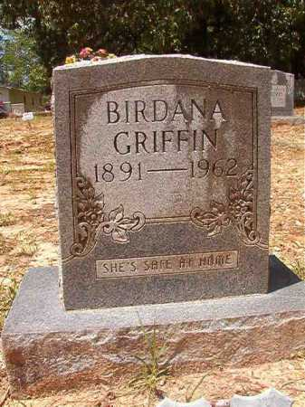 GRIFFIN, BIRDANA - Columbia County, Arkansas   BIRDANA GRIFFIN - Arkansas Gravestone Photos