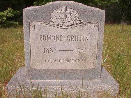 GRIFFIN, EDMOND - Columbia County, Arkansas | EDMOND GRIFFIN - Arkansas Gravestone Photos
