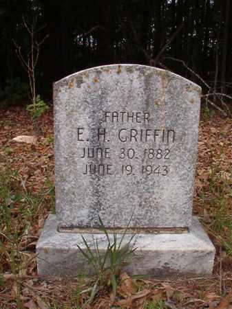 GRIFFIN, E H - Columbia County, Arkansas   E H GRIFFIN - Arkansas Gravestone Photos