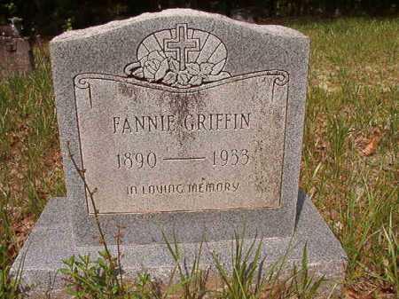 GRIFFIN, FANNIE - Columbia County, Arkansas | FANNIE GRIFFIN - Arkansas Gravestone Photos