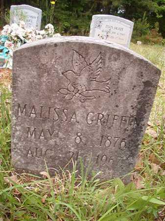 GRIFFIN, MALISSA - Columbia County, Arkansas | MALISSA GRIFFIN - Arkansas Gravestone Photos