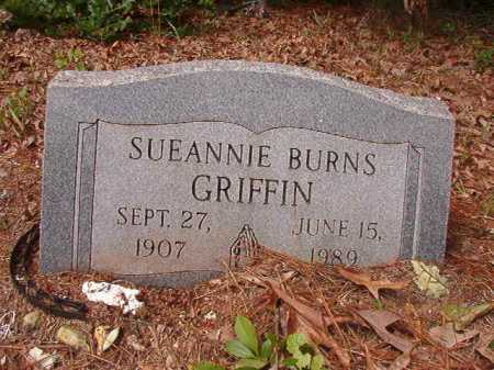 BURNS GRIFFIN, SUEANNIE - Columbia County, Arkansas | SUEANNIE BURNS GRIFFIN - Arkansas Gravestone Photos