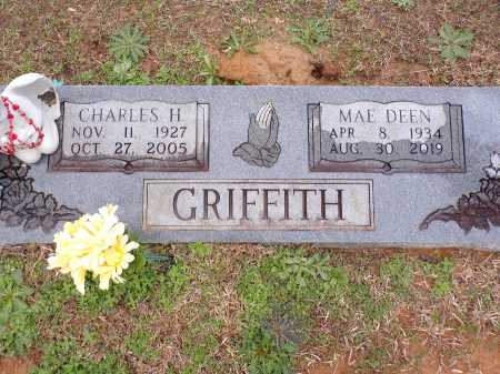 GRIFFITH, CHARLES H - Columbia County, Arkansas   CHARLES H GRIFFITH - Arkansas Gravestone Photos