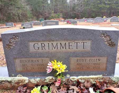 GRIMMETT, RUBY ELLEN - Columbia County, Arkansas | RUBY ELLEN GRIMMETT - Arkansas Gravestone Photos