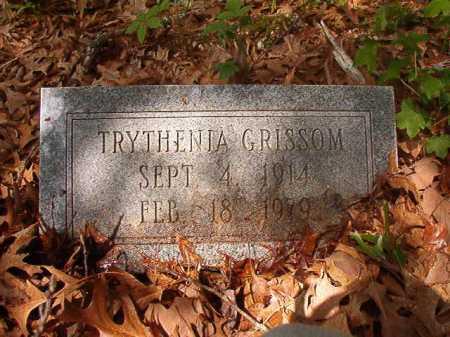 GRISSOM, TRYTHENIA - Columbia County, Arkansas   TRYTHENIA GRISSOM - Arkansas Gravestone Photos