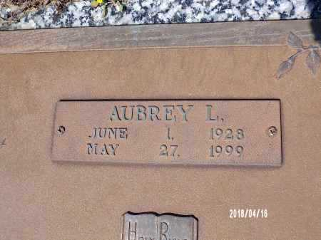 GROVES, AUBREY L - Columbia County, Arkansas | AUBREY L GROVES - Arkansas Gravestone Photos