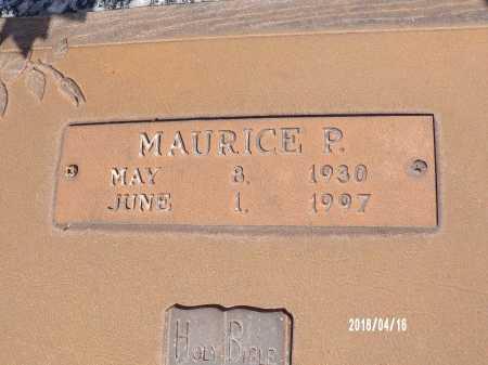 GROVES, MAURICE P - Columbia County, Arkansas | MAURICE P GROVES - Arkansas Gravestone Photos