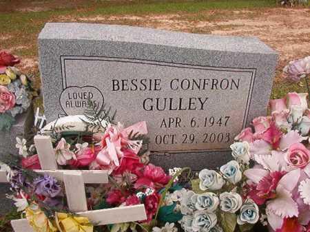 CONFRON GULLEY, BESSIE - Columbia County, Arkansas | BESSIE CONFRON GULLEY - Arkansas Gravestone Photos