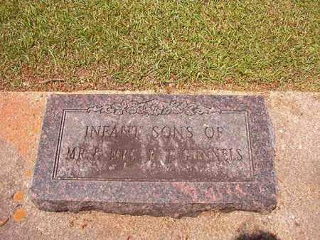 GUNNELS, INFANT SONS - Columbia County, Arkansas   INFANT SONS GUNNELS - Arkansas Gravestone Photos