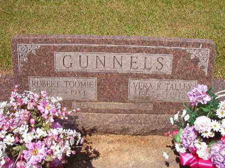 GUNNELS, ROBERT TOOMIE - Columbia County, Arkansas | ROBERT TOOMIE GUNNELS - Arkansas Gravestone Photos