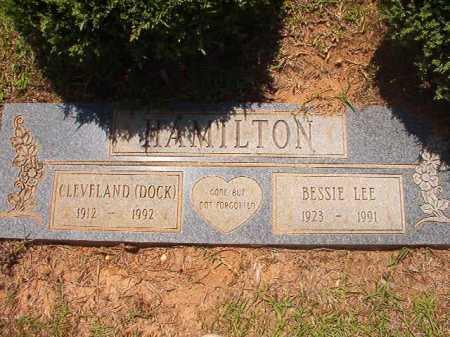 HAMILTON, CLEVELAND (DOCK) - Columbia County, Arkansas | CLEVELAND (DOCK) HAMILTON - Arkansas Gravestone Photos