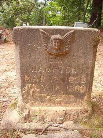 HAMPTON, ELI - Columbia County, Arkansas | ELI HAMPTON - Arkansas Gravestone Photos