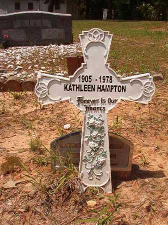 HAMPTON, KATHLEEN - Columbia County, Arkansas | KATHLEEN HAMPTON - Arkansas Gravestone Photos