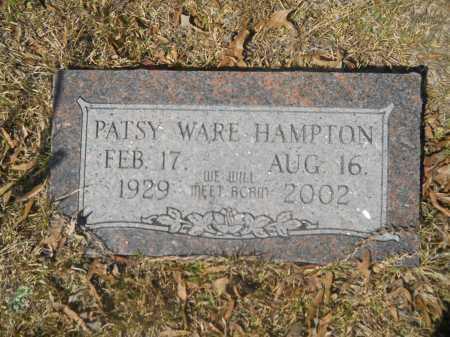 HAMPTON, PATSY WARE - Columbia County, Arkansas | PATSY WARE HAMPTON - Arkansas Gravestone Photos