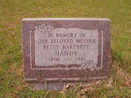 HANDY, BETTY - Columbia County, Arkansas | BETTY HANDY - Arkansas Gravestone Photos