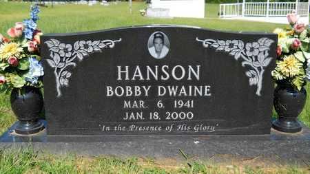 HANSON, BOBBY DWAINE - Columbia County, Arkansas | BOBBY DWAINE HANSON - Arkansas Gravestone Photos