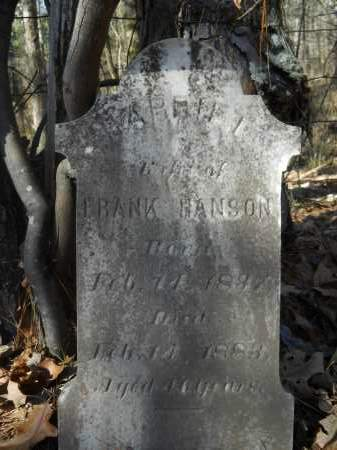 HANSON, HARRIET - Columbia County, Arkansas   HARRIET HANSON - Arkansas Gravestone Photos