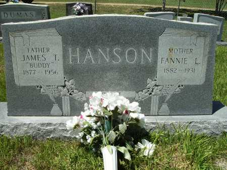 "HANSON, JAMES T. ""BUDDY"" - Columbia County, Arkansas | JAMES T. ""BUDDY"" HANSON - Arkansas Gravestone Photos"