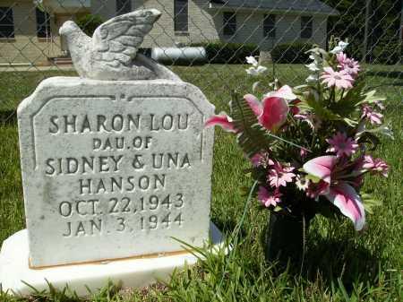 HANSON, SHARON LOU - Columbia County, Arkansas   SHARON LOU HANSON - Arkansas Gravestone Photos