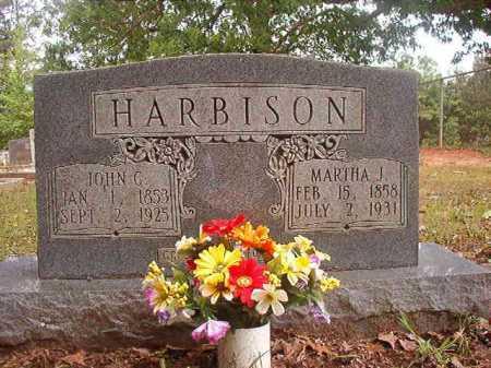 HARBISON, MARTHA J - Columbia County, Arkansas | MARTHA J HARBISON - Arkansas Gravestone Photos