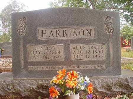 HARBISON, ALICE GRACIE - Columbia County, Arkansas | ALICE GRACIE HARBISON - Arkansas Gravestone Photos