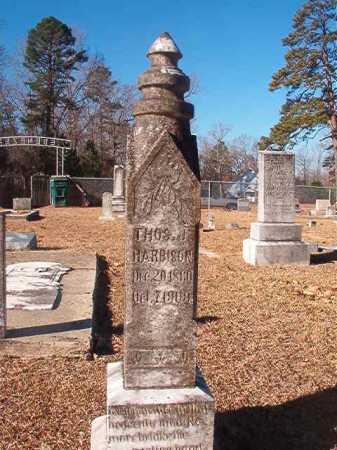 HARBISON, THOMAS J - Columbia County, Arkansas | THOMAS J HARBISON - Arkansas Gravestone Photos