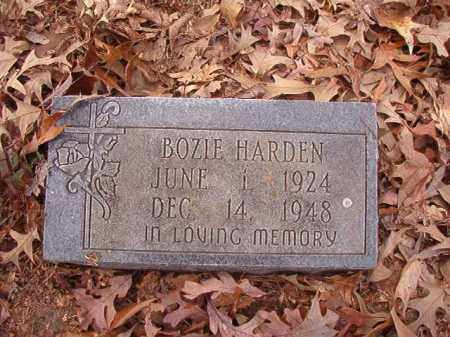 HARDEN, BOZIE - Columbia County, Arkansas | BOZIE HARDEN - Arkansas Gravestone Photos