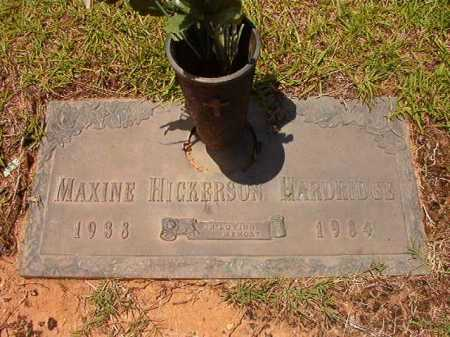 HICKERSON HARDRIDGE, MAXINE - Columbia County, Arkansas | MAXINE HICKERSON HARDRIDGE - Arkansas Gravestone Photos