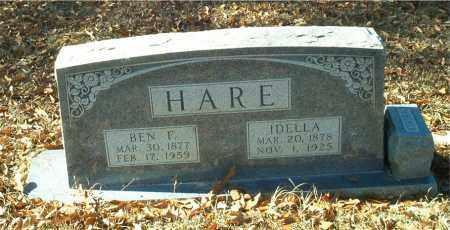 HARE, BEN F. - Columbia County, Arkansas | BEN F. HARE - Arkansas Gravestone Photos