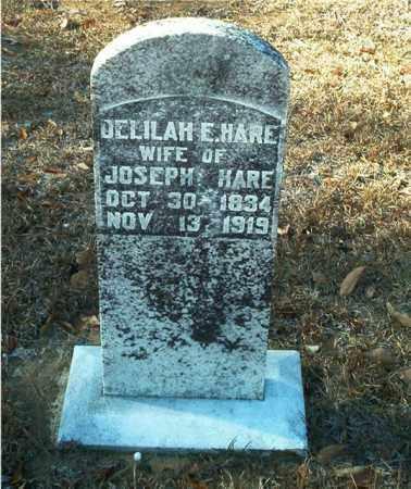 HARE, DELILAH E. - Columbia County, Arkansas | DELILAH E. HARE - Arkansas Gravestone Photos