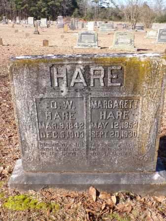 HARE, O W - Columbia County, Arkansas | O W HARE - Arkansas Gravestone Photos