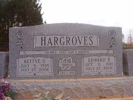 HARGROVES, EDWARD B - Columbia County, Arkansas | EDWARD B HARGROVES - Arkansas Gravestone Photos