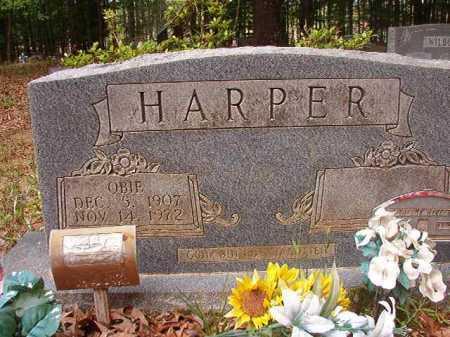 HARPER, OBIE - Columbia County, Arkansas   OBIE HARPER - Arkansas Gravestone Photos