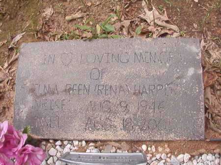 HARPER, THELMA REEN (RENA) - Columbia County, Arkansas | THELMA REEN (RENA) HARPER - Arkansas Gravestone Photos