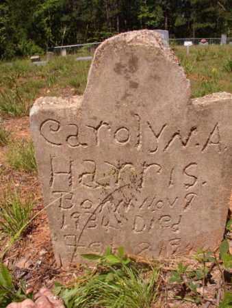 HARRIS, CAROLYN A - Columbia County, Arkansas | CAROLYN A HARRIS - Arkansas Gravestone Photos