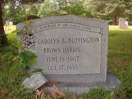 HARRIS, CAROLYN B - Columbia County, Arkansas | CAROLYN B HARRIS - Arkansas Gravestone Photos
