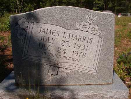 HARRIS, JAMES T - Columbia County, Arkansas   JAMES T HARRIS - Arkansas Gravestone Photos