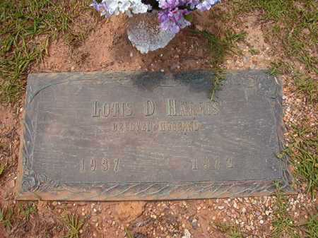 HARRIS, LOTIS D - Columbia County, Arkansas   LOTIS D HARRIS - Arkansas Gravestone Photos