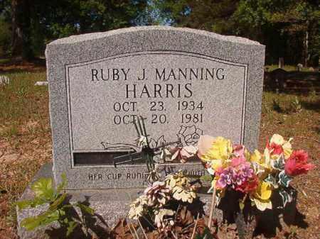 MANNING HARRIS, RUBY J - Columbia County, Arkansas | RUBY J MANNING HARRIS - Arkansas Gravestone Photos
