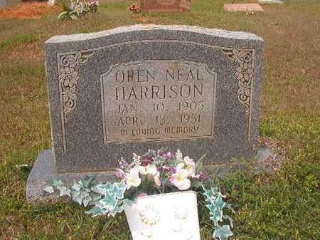 HARRISON, OREN NEAL - Columbia County, Arkansas   OREN NEAL HARRISON - Arkansas Gravestone Photos