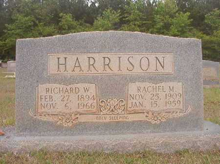HARRISON, RICHARD W - Columbia County, Arkansas | RICHARD W HARRISON - Arkansas Gravestone Photos