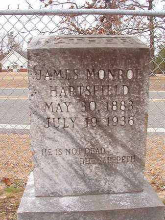 HARTSFIELD, JAMES MONROE - Columbia County, Arkansas | JAMES MONROE HARTSFIELD - Arkansas Gravestone Photos