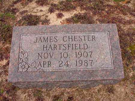 HARTSFIELD, JAMES CHESTER - Columbia County, Arkansas | JAMES CHESTER HARTSFIELD - Arkansas Gravestone Photos