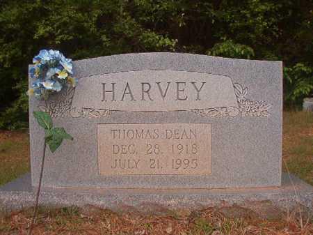 HARVEY, THOMAS DEAN - Columbia County, Arkansas   THOMAS DEAN HARVEY - Arkansas Gravestone Photos