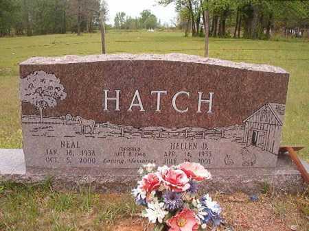 HATCH, NEAL - Columbia County, Arkansas | NEAL HATCH - Arkansas Gravestone Photos