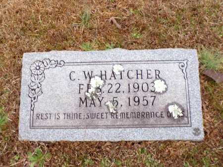 HATCHER, C W - Columbia County, Arkansas | C W HATCHER - Arkansas Gravestone Photos