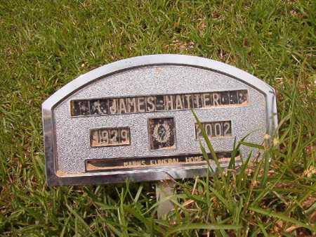 HATTER, JAMES - Columbia County, Arkansas | JAMES HATTER - Arkansas Gravestone Photos