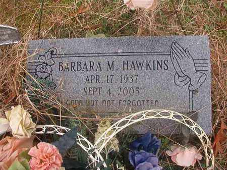 HAWKINS, BARBARA M - Columbia County, Arkansas   BARBARA M HAWKINS - Arkansas Gravestone Photos